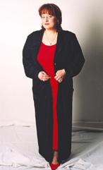 Společenský černý dlouhý kabát - promoce, maturita